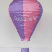 1 Lampion Balon Udara warna warni