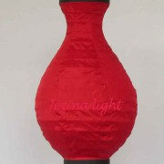1 Lampion Guci Warna Merah