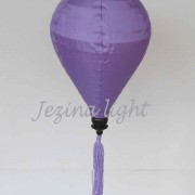 1 lampion aladin warna ungu