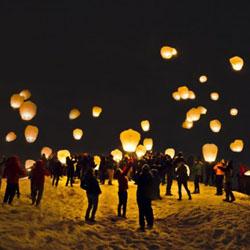 lampion terbang, jual lampion, sky lantern