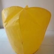 Lampion terbang warna kuning, jual aneka lampion  warna warni
